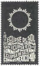 Mexico 1970 Solar Eclipse/Sun/Space/Nature/Astronomy 1v (n24964)
