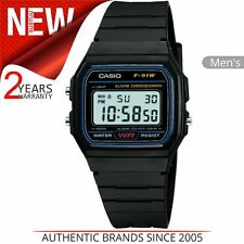 Casio F-91W-1YER Resin Digital Watch - Black