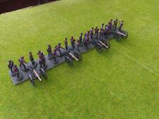 Petits soldats en plastique peint français chevaux
