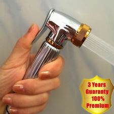 Gold Chrome Single Brass Toilet Mini Muslim Bidet Shattaf Spayer Shower Head