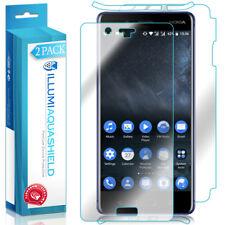 2x iLLumi AquaShield Front Screen + Back Panel Protector for Nokia 8