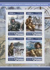 Guinea 2017 MNH Ernest Shackleton 4v M/S Exploration Huskies Dogs Stamps