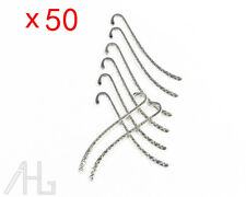 50pcs Tibet Silver Metal Bookmarks Book Mark With Hook Jewelry Findings DIY