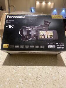 Panasonic HC-VXF990 4K Video Camera Camcorder LEICA Lens Brand New In Box