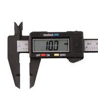 "Digital Schieblehre 150 mm 6"" Zoll LCD Elektronik Messschieber Mikrometer Neu"