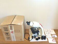 Leica Research Microscope DM750 Boxed with 4 x Objectives Ship Worldwide