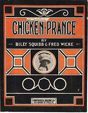 1912 Chicken Prance by Billy Squibb and Fred Wicke