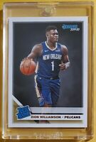 Zion WILLIAMSON 🔥 New Orleans PELICANS 🏀 2019-20 DONRUSS * RC * ROOKIE CARD