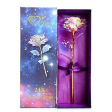 Rose Éternelle Multicolore Fleur Artificielle Décoration Intérieur Boite Cadeaux