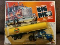 Vintage ZEE TOYS HO Big Rigs Semi Truck Die Cast NEW EXTREMELY RARE GULF! 1981