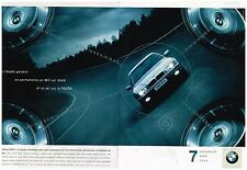 Publicité Advertising 1999 (2 pages) BMW Serie 7 740 d