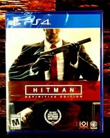 Hitman: Definitive Edition - PS4 - Sony PlayStation 4 - Brand NEW - Sealed