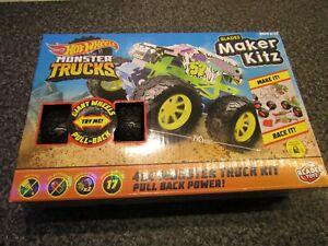 Hot Wheels Monster Trucks by Bladez Toys, Build Your Own Monster Truck - NEW