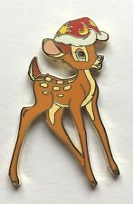 Disney Pin Badge DLP - Bambi Christmas Santa Hat Noel
