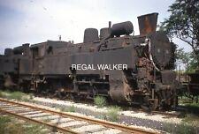 ORIGINAL 35MM OBB AUSTRIA AUSTRIAN RAILWAY SLIDE STEAM 95.124 AT GMUND JULY 1969