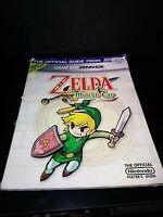 Legend of Zelda The Minish Cap Official Nintendo Strategy Guide GBA Acceptable