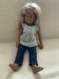 Sasha Morgenthaler Puppe blond blaue Augen Vintage