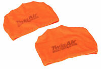 Motorcycle Airfilter Skins (2 pack) Motocross air filter sock Twinair