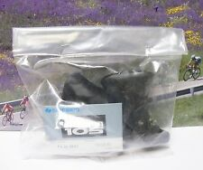 Shimano non aero brake lever hoods 105 with anatomic grip,new in bag 1980's