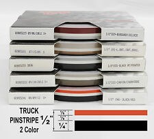 "Half Inch Truck PinStripe 1//2/"" x 50/' Roll Accent Pinstripe Stripe w 4X4 insert"
