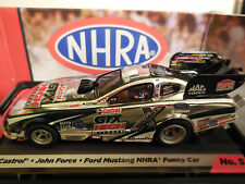 AUTO WORLD~John Force CASTROL Mustang Funny Car ~ New In Jewel~ FITS AFX, AW, JL