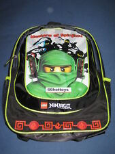 LEGO NINJAGO LLOYD ZX 16 inch Backpack - Black NEW