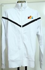BARCELONA WHITE TRACK JACKET BY NIKE ADULTS SIZE XL BRAND NEW WITH TAGS