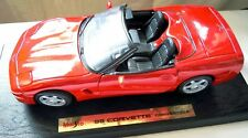 Maisto 50318: '98 Corvette Convertible, Diecast in 1/18, NEU & OVP - selten