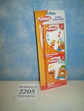 NEW 2010 Playskool Mr Potato Head Tater 2 - Pack Spud Rummy + Match Game Cards