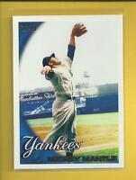 Mickey Mantle 2010 Topps Series 1 Card # 7 New York Yankees Baseball MLB HOF