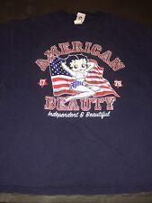 Betty Boop. (2004). American Beauty. T-Shirt. Size. Xl