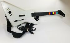 Guitar Hero X-Plorer Wired Controller Xbox 360 Red Octane gibson explorer white