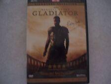 Gladitaor Russell Crowe Dvd 2 Disk Set Collectors Nice Plays Good