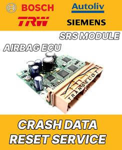 NISSAN JUKE 98820BV80B 0285012905 AIRBAG ECU SRS MODULE CRASH DATA RESET SERVICE
