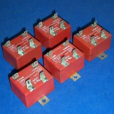 POTTER & BRUMFIELD 24VDC COIL, 120VAC, 10A RELAY ECT1DC42 *LOT OF 5* *PB*