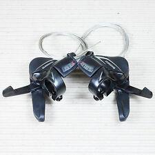 SHIMANO ACERA SL-M360 Schalthebel Set 3x8 fach für Umwerfer und Schaltwerk