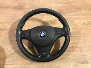 BMW 3er E90 91 E92 E93 Leder Lenkrad mit Airbag Baujahr 2008 M Technik M Paket