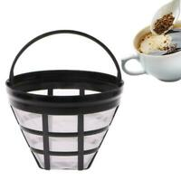 1*Reusable Basket Coffee Filter For 8-12 Cup MrCoffee AU Machine Maker X9H4