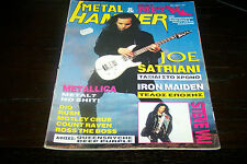 METAL HAMMER MAGAZINE 1/1994 JOE SATRIANI METALLICA IRON MAIDEN DIO RUSH