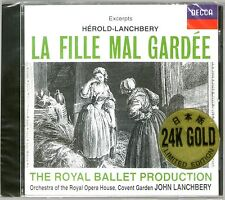 Herold Lanchberry - La Fille Mal Gardee Decca - SEALED Japan Press 24K Gold CD