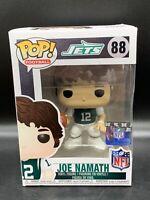 "JOE NAMATH New York Jets (HOME) Funko Pop NFL Football 4"" Vinyl Figure #88 MINT"