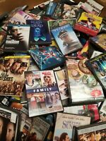 Lot of 40 RANDOM Used DVDs Assorted Genre Movies TV Shows 40 Bulk DVD Mixed Box