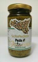 Pesto di pistacchio 190 g - Valle dell'Etna - Sicilia Perfetta sensa glutine
