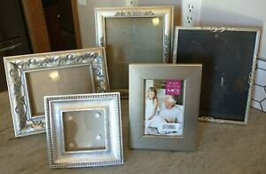 Vintage PICTURE FRAME Lot Gallery Wall Silver Gold Lot Project Decor Wedding art
