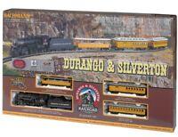 Bachmann 00710 Durango & Silverton Electric Train Set w/ E-Z Track HO Scale