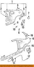 HONDA OEM Quarter Panel-Fuel Door Cushion 74422SS0000