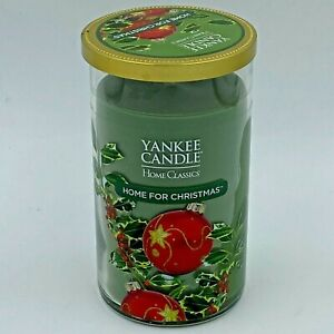 Yankee Candle Home For Christmas 12 oz Jar Discontinued NOS Home Classics PL