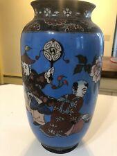 Antique Vintage Chinese Cloisonne Vase