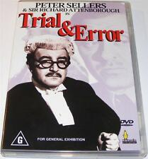 TRIAL AND ERROR--  Peter Sellers  (Dvd)