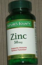 Nature's Bounty Zinc 50mg Caplets - 100 Count immune support